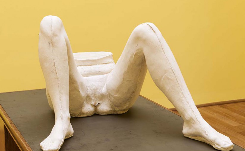 "Sarah Lucas, ""I SCREAM DADDIO"", British Pavilion, Venice Biennale (IT)"